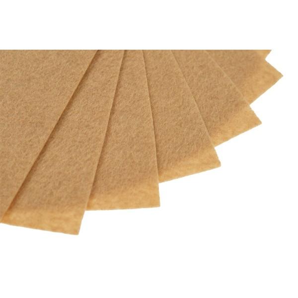 Filc w arkuszach 20x30 cm 1 szt. P066 Miodowy