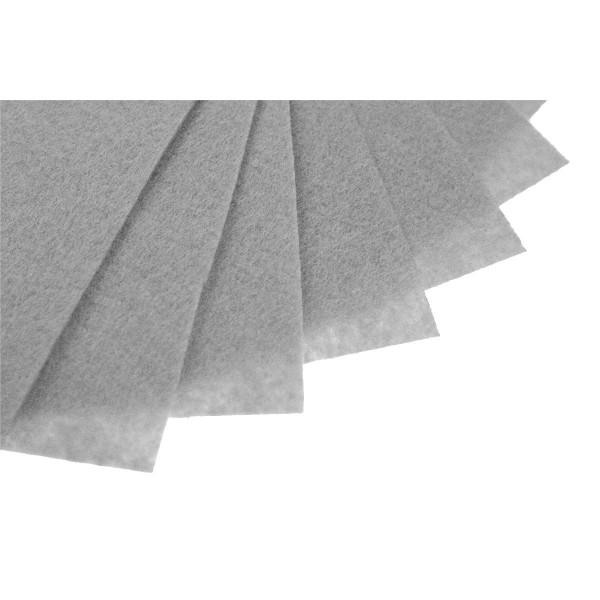 Filc w arkuszach 20x30 cm 1 szt. P079 Jasny Szary
