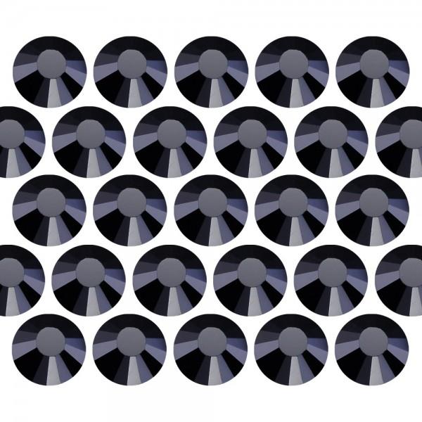 Dżety szklane Pellosa SS6 (2mm) Jet Black 100 gross (14400 szt.)