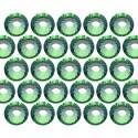 Dżety szklane Pellosa SS16 (4mm) Chrysolite 20 gross (2880 szt.)