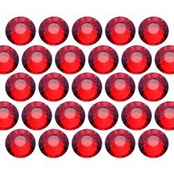 Dżety szklane Pellosa SS6 (2mm) Siam 20 gross (2880 szt.)