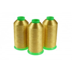 Nici metalizowane do haftu BRAVO BST415 Złoty