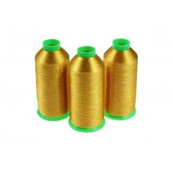 Nici metalizowane do haftu BRAVO BST416 Ciemny Złoty