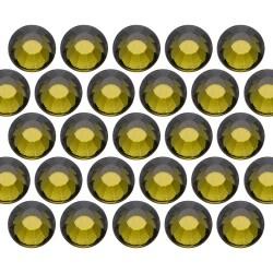 Glass rhinestone beads SS30 (6mm) Olivine