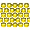 Glass rhinestone beads SS20 (5mm) Citrine
