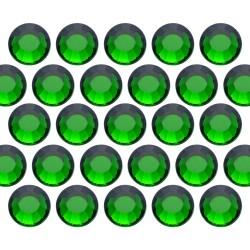 Glass rhinestone beads SS30 (6mm) Emerald