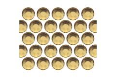 Glass rhinestone beads SS30 (6mm) Lt. Topaz