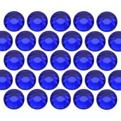 Glass rhinestone beads SS30 (6mm) Cobalt