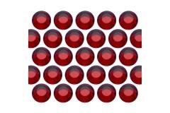 Glass rhinestone beads SS30 (6mm) Siam