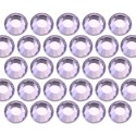 Glass rhinestone beads SS20 (5mm) Lt. Pink