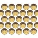 Glass rhinestone beads SS20 (5mm) Lt. Topaz