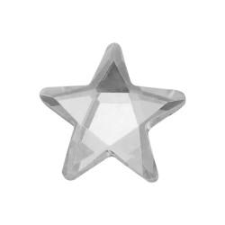Gwiazdki szklane termo 11x11mm Krystaliczny (Crystal)