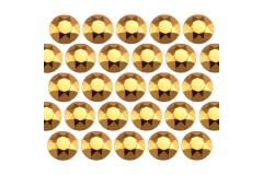 Octagon studs 2 mm Gold