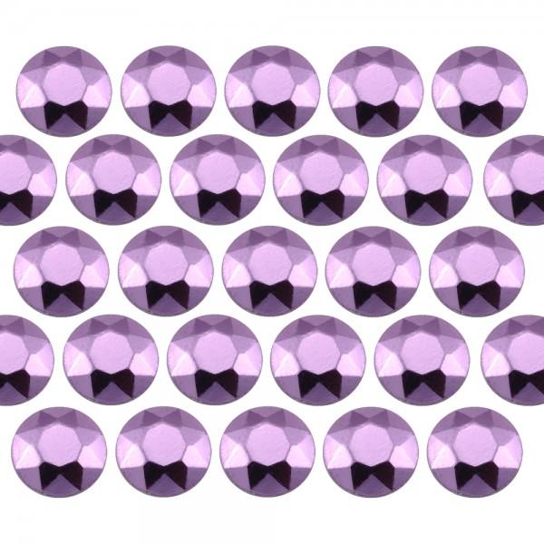 Octagon studs 2 mm Lt. Purple