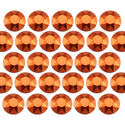 Octagon studs 2 mm Orange