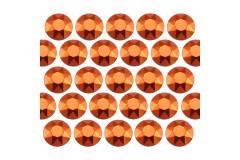 Octagon studs 2 mm Orange