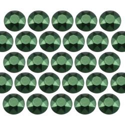 Octagon studs 2 mm Matt Green