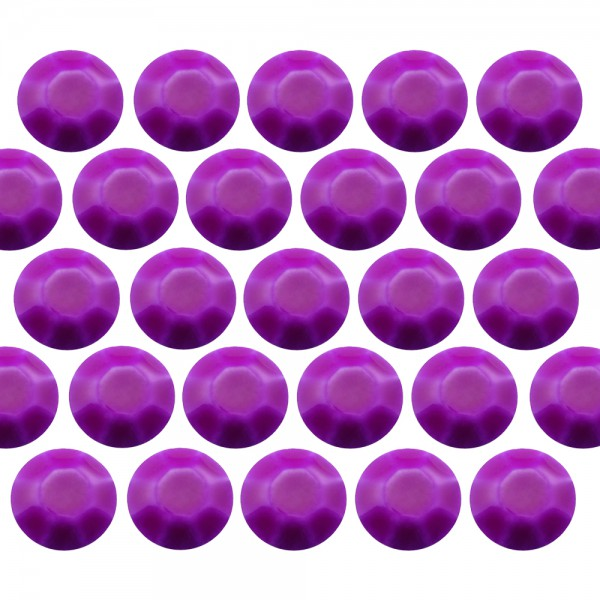 Octagon studs 2 mm Flu. Purple