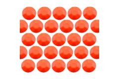 Octagon studs 3 mm Flu. Orange