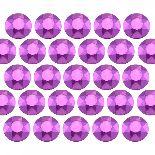 Octagon studs 3 mm Matt Purple
