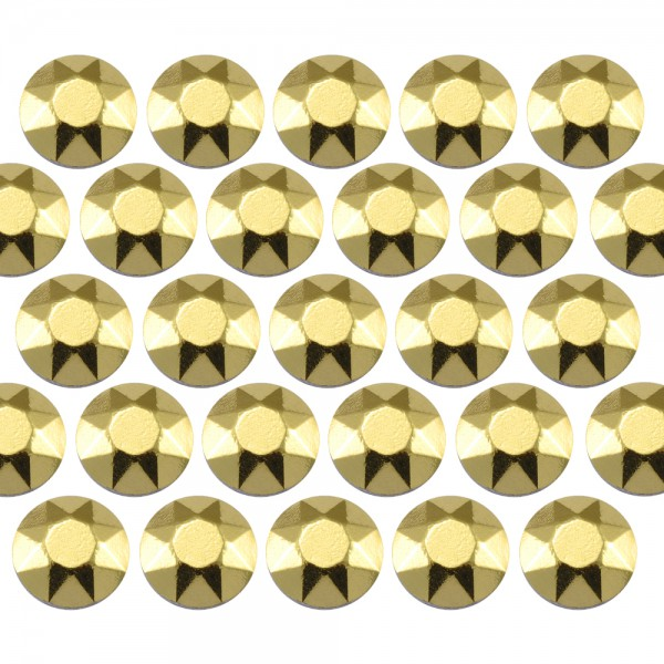 Octagon studs 3 mm Yellow