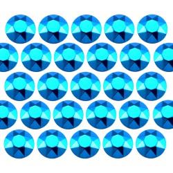 Octagon studs 3 mm Sky