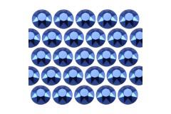 Octagon studs 3 mm Dark Blue