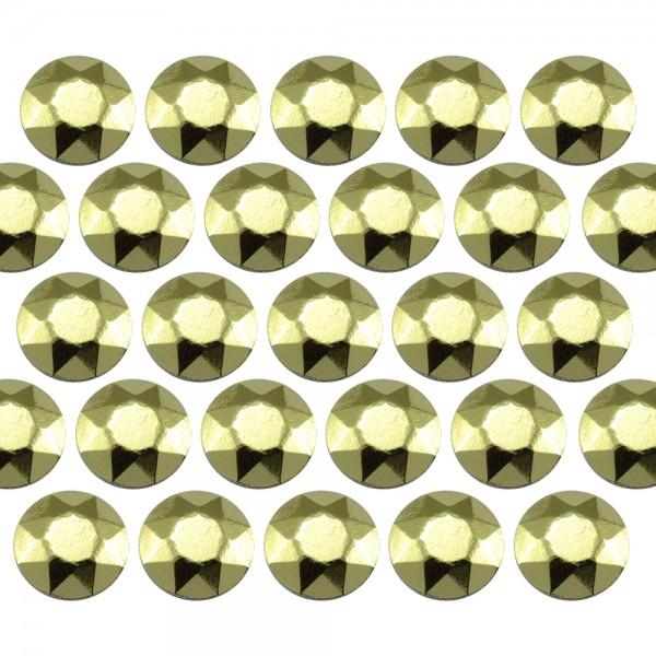 Octagon studs 3 mm Peridot