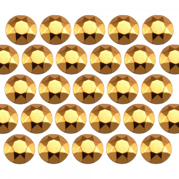 Octagon studs 3 mm Gold