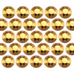 Octagon studs 4 mm Gold