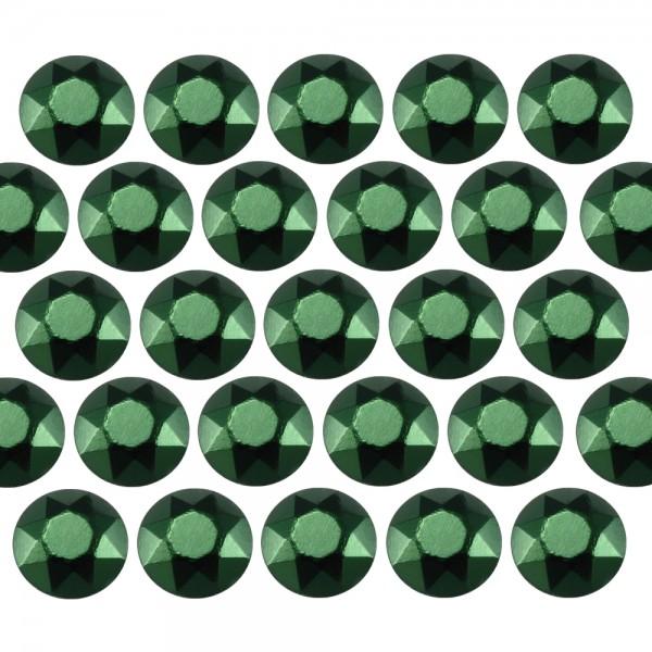 Octagon studs 4 mm Green