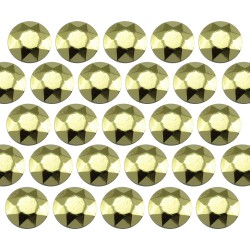 Octagon studs 4 mm Peridot
