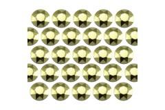Octagon studs 4 mm Peridot