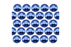Octagon studs 4 mm Dark Blue