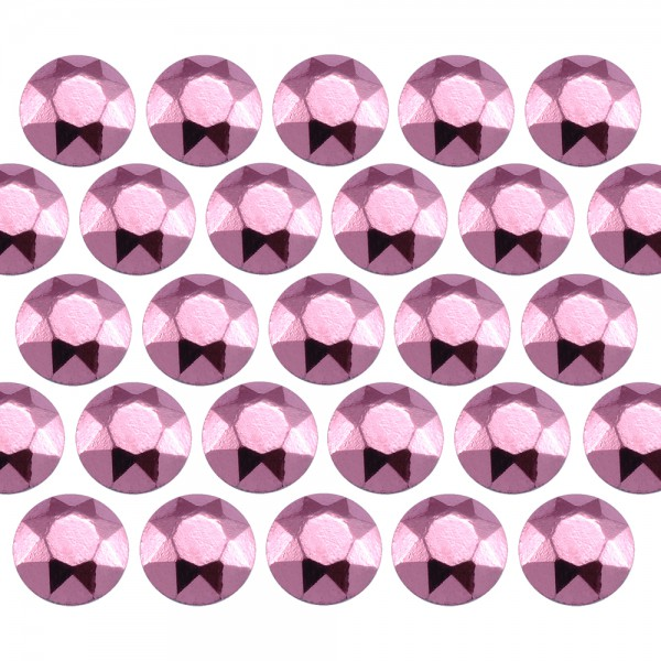 Octagon studs 4 mm Lt. Pink
