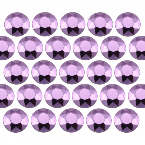 Octagon studs 4 mm Lt. Purple