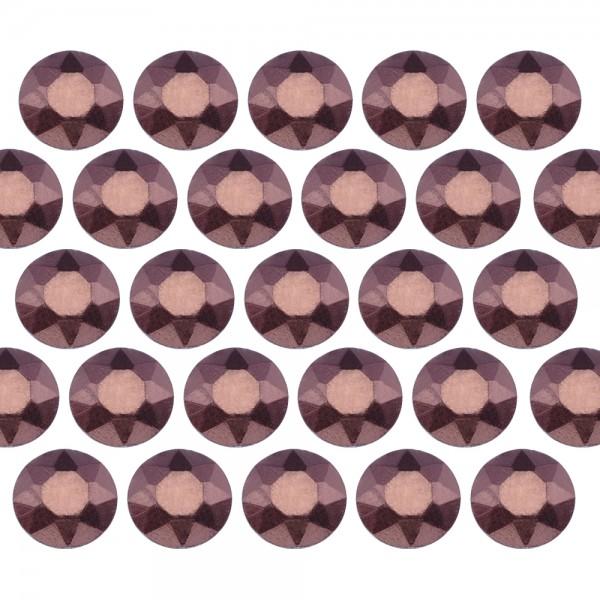 Octagon studs 4 mm Matt Brown