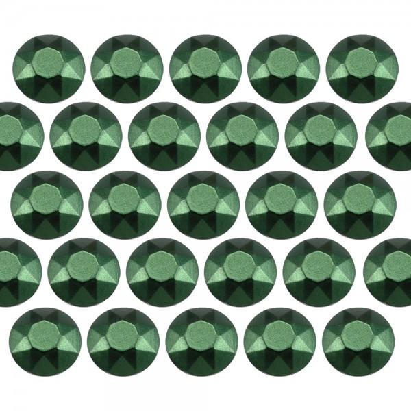 Octagon studs 4 mm Matt Green