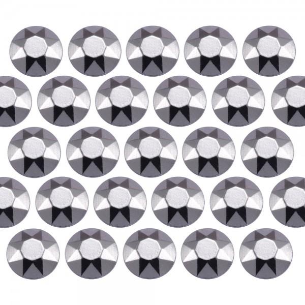 Octagon studs 4 mm Lt. Gray