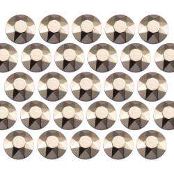 Octagon studs 4 mm Classic Beige