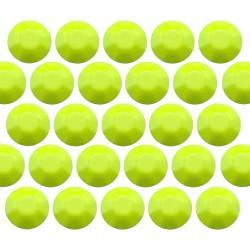 Octagon studs 4 mm Flu. Lime