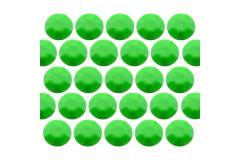 Octagon studs 6 mm Flu. Green