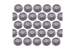 Octagon studs 6 mm Matt Gary