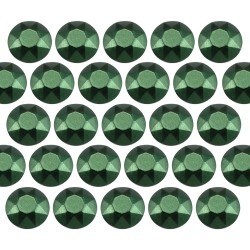 Octagon studs 6 mm Matt Green