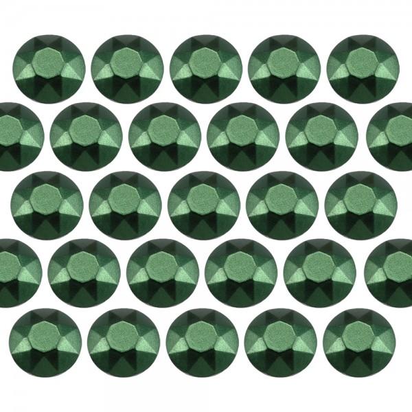 Octagon studs 6 mm Matt Green