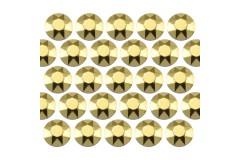 Octagon studs 6 mm Yellow