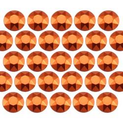 Octagon studs 6 mm Orange