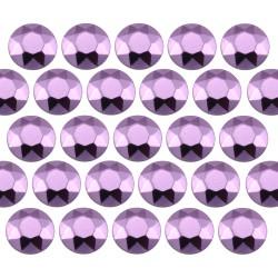 Octagon studs 6 mm Lt. Purple