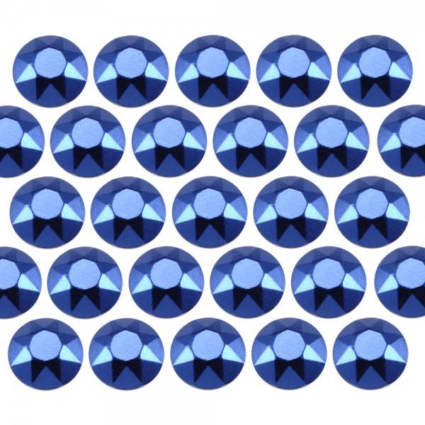 Octagon studs 6 mm Dark Blue