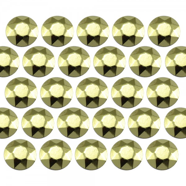 Octagon studs 6 mm Peridot